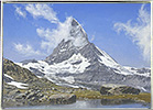 Matterhorn from the Riffelsee, Summer